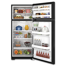 Picture of GE® ENERGY STAR® 17.5 CU FT REFRIGERATOR - BLACK
