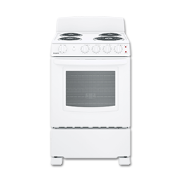 "Picture of HOTPOINT® 24"" SPACESAVER ELECTRIC RANGE - WHITE"