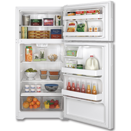 Picture of HOTPOINT® ENERGY STAR® 14.6 CU FT TOP-FREEZER REFRIGERATOR - WHITE