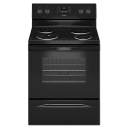 "Picture of WHIRLPOOL® 30"" SELF-CLEAN RANGE - BLACK"