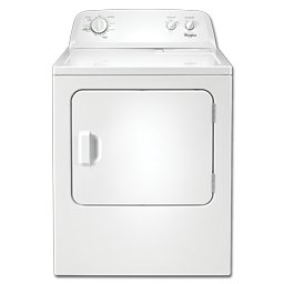 Picture of WHIRLPOOL® 7 CU FT GAS DRYER - WHITE