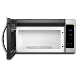 Picture of WHIRLPOOL® 1.7 CU FT OVER-THE-RANGE MICROWAVE - STAINLESS STEEL
