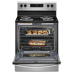 "WHIRLPOOL® 30"" SELF-CLEAN RANGE - STAINLESS STEEL"