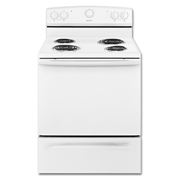 "Picture of AMANA® 30"" STANDARD ELECTRIC RANGE - WHITE"