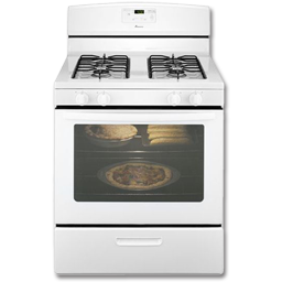 "Picture of AMANA® 30"" STANDARD GAS RANGE -WHITE"