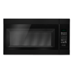 Picture of AMANA® 1.6 CU FT OVER-THE-RANGE MICROWAVE - BLACK