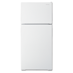 Picture of AMANA 14 CU FT REFRIGERATOR - WHITE - A4TCNWFBW/ART104TFDW - ADA COMPLIANT