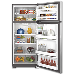 Picture of GE® 17.5 CU FT REFRIGERATOR - STAINLESS STEEL