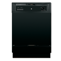Picture of GE® ENERGY STAR® 3 LEVEL BUILT-IN DISHWASHER - BLACK