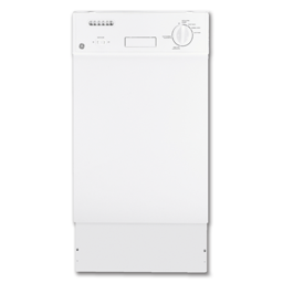 """Picture of GE® 18"""" SPACEMAKER DISHWASHER - WHITE"""