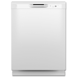 """Picture of GE® 24"""" DISHWASHER - WHITE"""