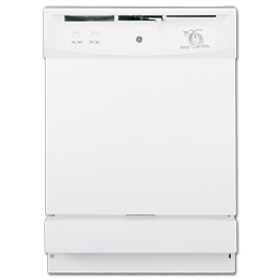 "Picture of GE® SPACEMAKER® 24"" UNDER-THE-SINK DISHWASHER - WHITE"