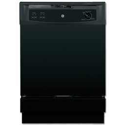 "Picture of GE® SPACEMAKER® 24"" UNDER-THE-SINK DISHWASHER - BLACK"