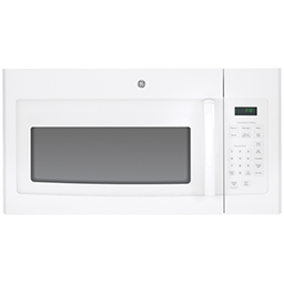 Picture of GE® 1.6 CU FT OVER THE RANGE MICROWAVE - WHITE