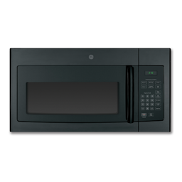 Picture of GE® 1.6 CU FT OVER THE RANGE MICROWAVE - BLACK