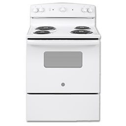 """Picture of GE® 30"""" ELECTRIC RANGE - WHITE"""