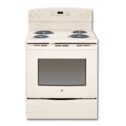 "Picture of GE® 30"" SELF-CLEAN ELECTRIC RANGE - BISQUE"