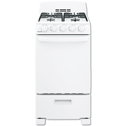 "Picture of HOTPOINT® 20"" SPACESAVER GAS RANGE - WHITE"