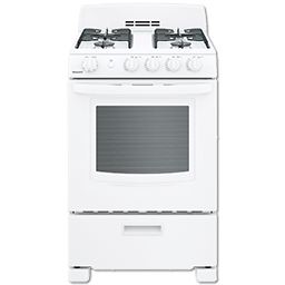 "Picture of HOTPOINT® 24"" SPACESAVER GAS RANGE - WHITE"