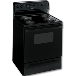 "Picture of HOTPOINT® 30"" ELECTRIC SELF-CLEAN RANGE - BLACK"