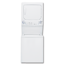 """Picture of GE® 27"""" ELECTRIC SPACEMAKER WASHER/DRYER - WHITE"""