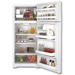 Picture of GE® ENERGY STAR® 17.5 CU FT REFRIGERATOR WITH ICE MAKER - WHITE