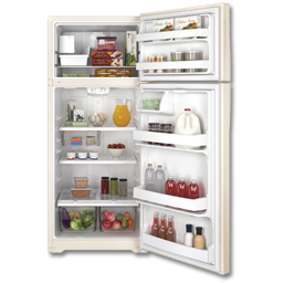 Picture of GE® ENERGY STAR® 17.5 CU FT REFRIGERATOR WITH ICE MAKER - BISQUE