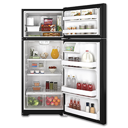 Picture of GE® ENERGY STAR® 17.5 CU FT REFRIGERATOR WITH ICE MAKER - BLACK