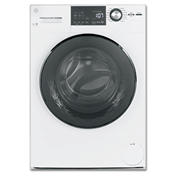 """Picture of GE® 24"""" COMPACT FRONT LOAD WASHER - WHITE"""