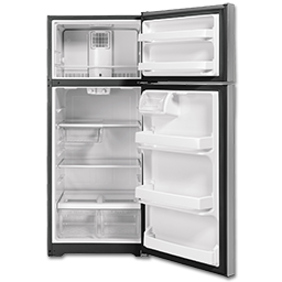 Picture of GE® ENERGY STAR® 17.5 CU FT TOP-FREEZER REFRIGERATOR - SLATE
