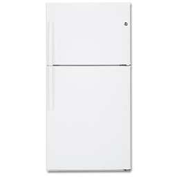 Picture of GE® ENERGY STAR® 21.1 CU FT TOP-FREEZER REFRIGERATOR - WHITE