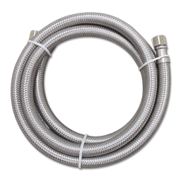"""60"""" STAINLESS STEEL ICE MAKER SUPPLY LINE"""