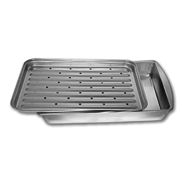 Picture of METAL BROILER PAN WITH RACK