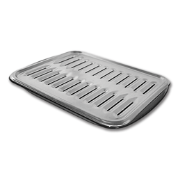 Picture of PORCELAIN BROILER PAN WITH RACK