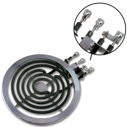 "Picture of 8"" WIRE-IN BURNER ELEMENT FOR GE® WB30X354"