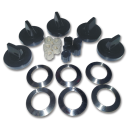 Picture of GAS STOVE BLACK KNOB KIT