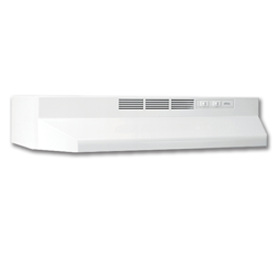 "Picture of BROAN® 24"" DUCTLESS RANGEHOOD - WHITE"