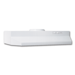 "Picture of BROAN® 30"" ROUND DUCTED RANGEHOOD - WHITE"