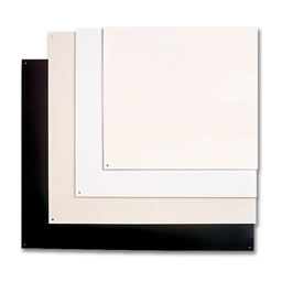 "Picture of 24"" X 30"" RANGE WALL SHIELD - ALMOND/WHITE"