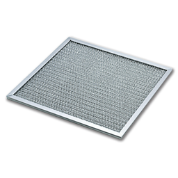 "Picture of 8-15/16"" X 8-15/16"" X 3/8"" ALUMINUM RANGE HOOD FILTER"