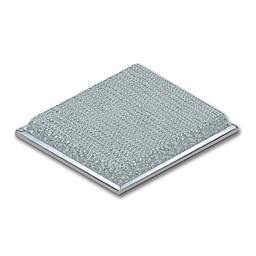 "Picture of 10-1/8"" X 10-15/16"" X 3/32"" ALUMINUM BASKET-SHAPED RANGE HOOD FILTER"