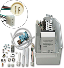 Picture of ICE MAKER KIT WITH ROUND PLUG FOR WHIRLPOOL® 1129313
