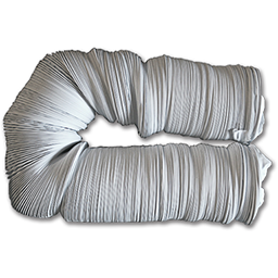 """4"""" X 50' VINYL VENT HOSE (NOT RECOMMENDED FOR USE WITH DRYER VENTS)"""