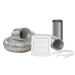 Picture of LOUVERED DRYER VENT HOOD KIT