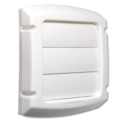 Picture of WHITE LOUVERED DRYER VENT COVER