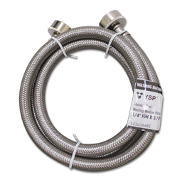 6' STAINLESS STEEL WASHING MACHINE HOSE