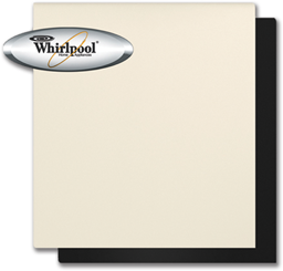 Picture of WHIRLPOOL® DISHWASHER PANEL - ALMOND/BLACK
