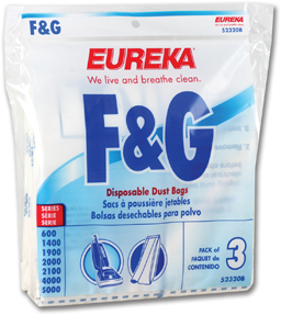 Picture of F&G STYLE VACUUM CLEANER BAGS - 3/PK