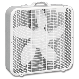 "Picture of 20"" BOX FAN"