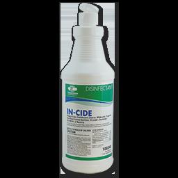 IN-CIDE DISINFECTANT GERMICIDAL CLEANER - RTU - 12/CS